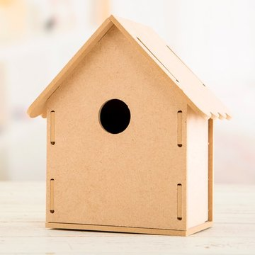 Craft Consortium 3D MDF Bird House vogelhuis