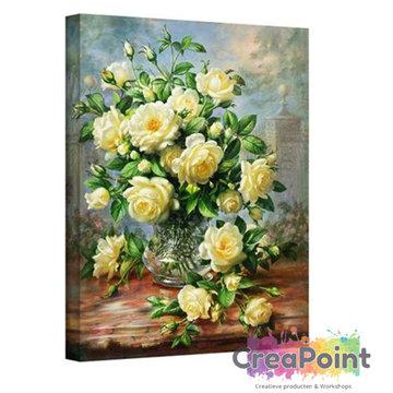 Schilderen op nummer Boeket bloemen 40 x 50 cm zonder frame