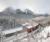 Full 5D Diamond Painting Trein in winters landschap 50 x 40 cm