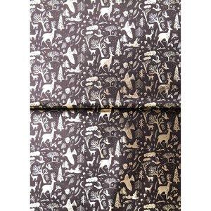 Paperpatch decoupagepapier Wreaths black FSC mix
