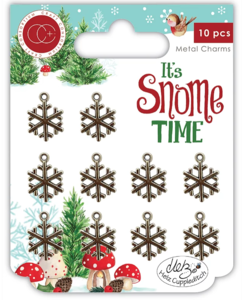 It's snome time Metal charms Sneeuwvlok - Craft Consortium