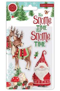 It's snome time Transparante stempelset Snome time - Craft Consortium