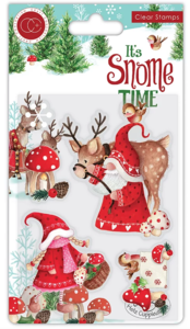 It's snome time Transparante stempelset Mr. & Mrs. Snome - Craft Consortium