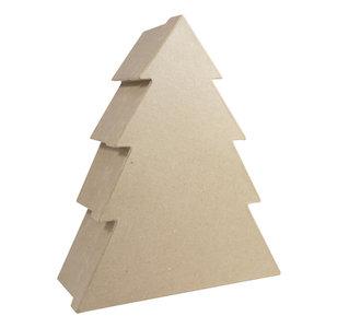 Opberger doos Kerstboom M