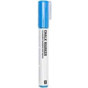 Chalk marker Krijtstift vloeibaar Blauw