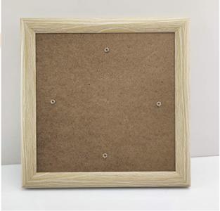 Crystal Art Frame 18 x 18 cm Houtkleur