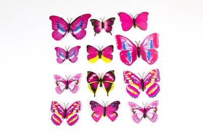 3d vlinders