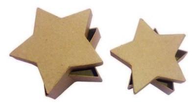 Doosje stervorm  set van 2