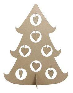 Kerstboom hart