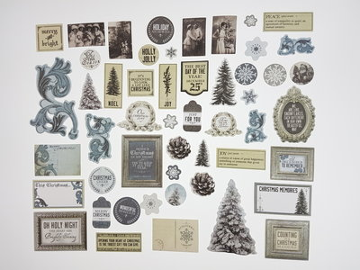 card stock Collectables frosted