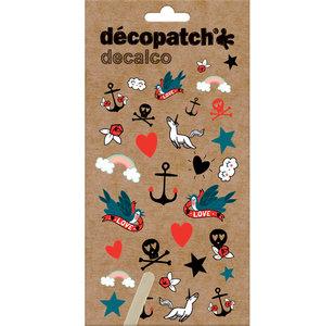NIEUW Decalco Transfer stickers Tatoo
