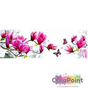 Full 5D Diamond Painting Magnoliatak 90 x 45 cm