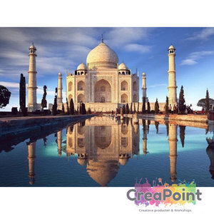 Full 5D Diamond Painting Taj Mahal 50 x 40 cm