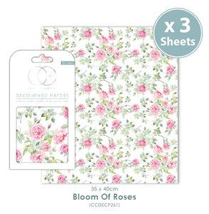 Decoupage papier Bloom Of Roses - Craft Consortium
