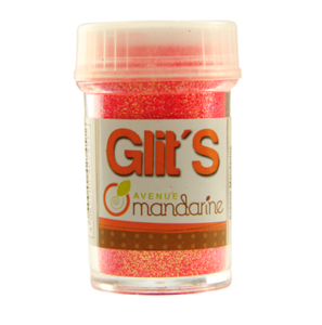 Glitters Fluo Roze-Oranje